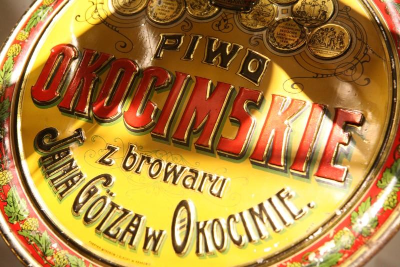Archiwalny Browar Okocim :: zdjęcia z wystawy