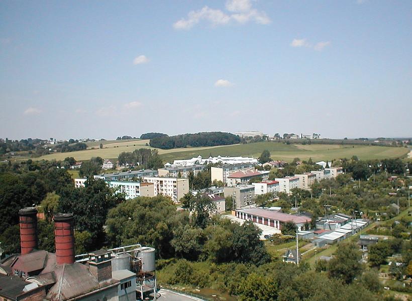 Browar Okocim 2002r. :: panorama Pomianowskiego Stoku